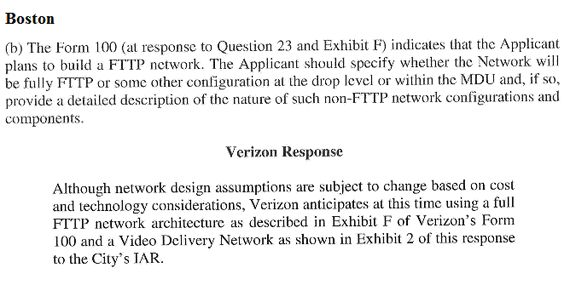 Verizon's FiOS Deployment In Boston Is Fiber-To-The-B S  | HuffPost