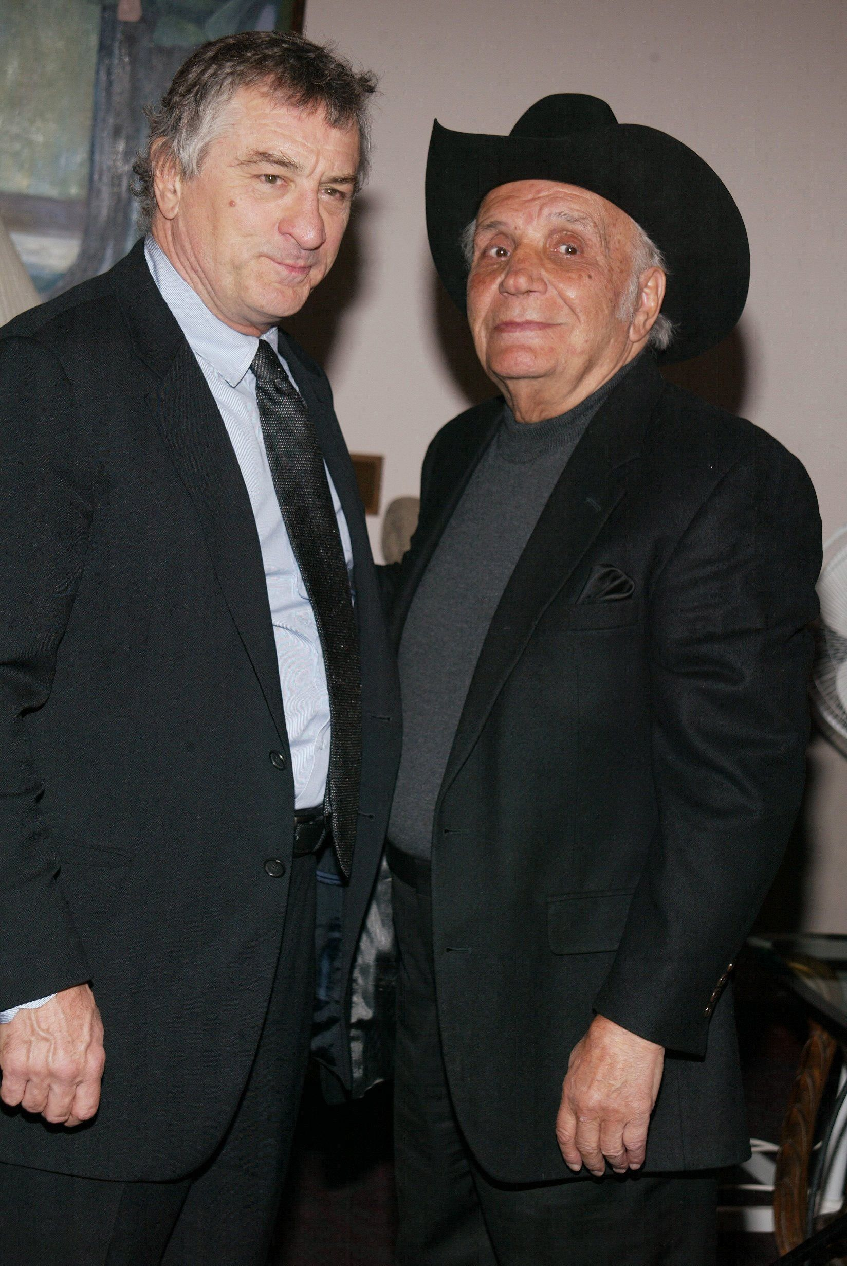 Robert De Niro, Jake LaMotta during MGM Home Entertainment celebrates the 25th Anniversary of 'Raging Bull' at Ziegfeld Theater in New York, New York, United States. (Photo by Sylvain Gaboury/FilmMagic)