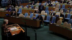 Awkward For Theresa May As PM Delivers Big United Nations Speech To A Pretty Empty