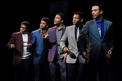 David Ruffin (Ephraim Sykes), Eddie Kendricks (Jeremy Pope), Paul Williams (James Harkness), Otis Williams (Derrick Baskin),