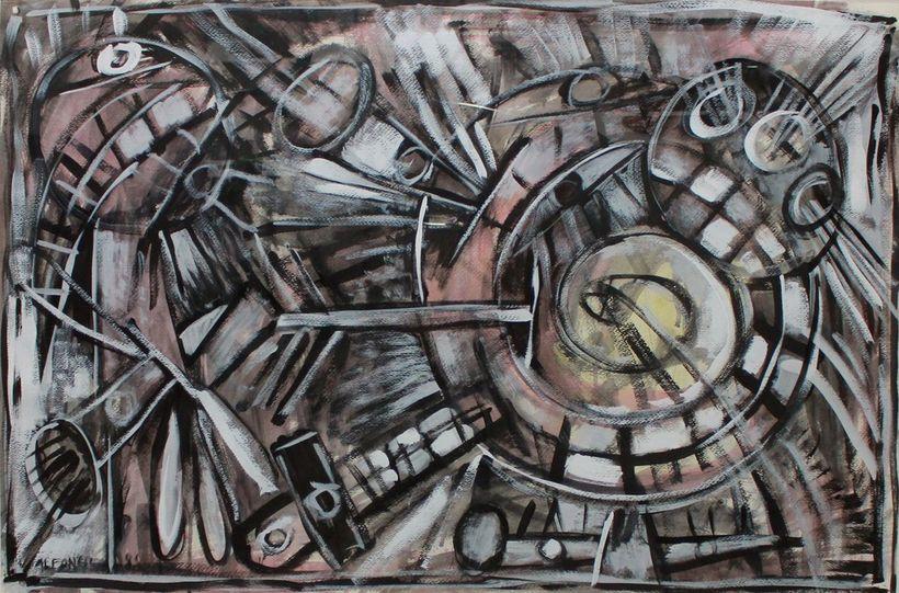 Carlos Alfonzo. Untitled, 1988