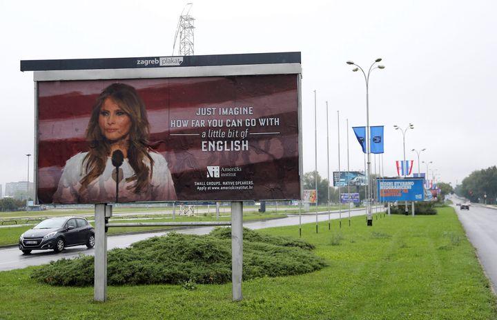 The billboard.