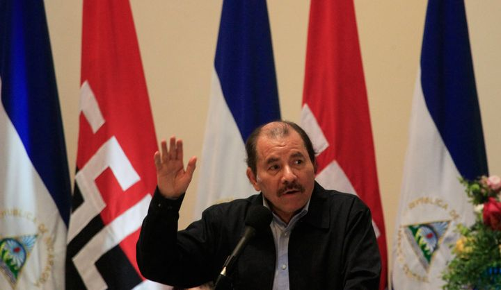 Nicaragua's President Daniel Ortega said Monday he plans to sign the Paris Agreement.