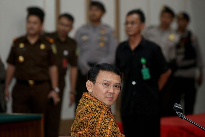 Jakarta's governor, Basuki Tjahaja Purnama, was the first non-Muslim to hold that office in 50 years.