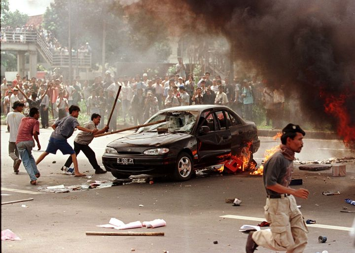 Riots in Jakarta in 1998 targeted the country's ethnic Chinese community.