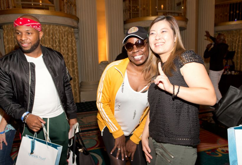 Leslie Jones attended the Celebrity Connected Luxury Gifting Suite Honoring The Emmys®
