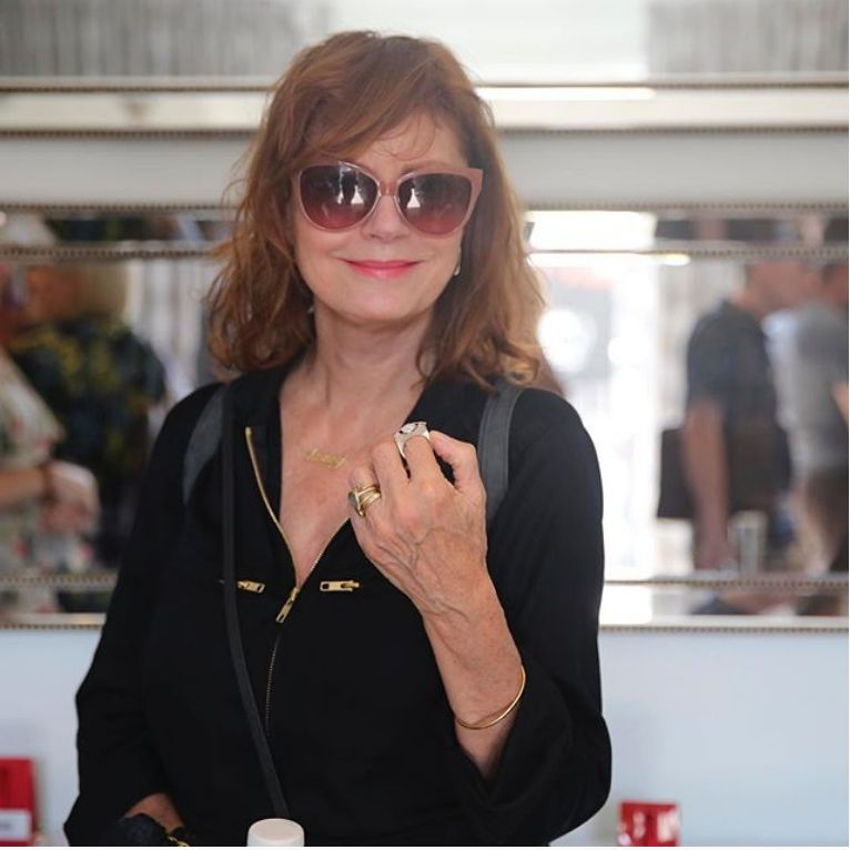 Susan Sarandon attends Nathalie Dubois - Pre-Awards DPA Luxury Talent Lounge at the Luxe Hotel on Rodeo Drive in Beverly Hill