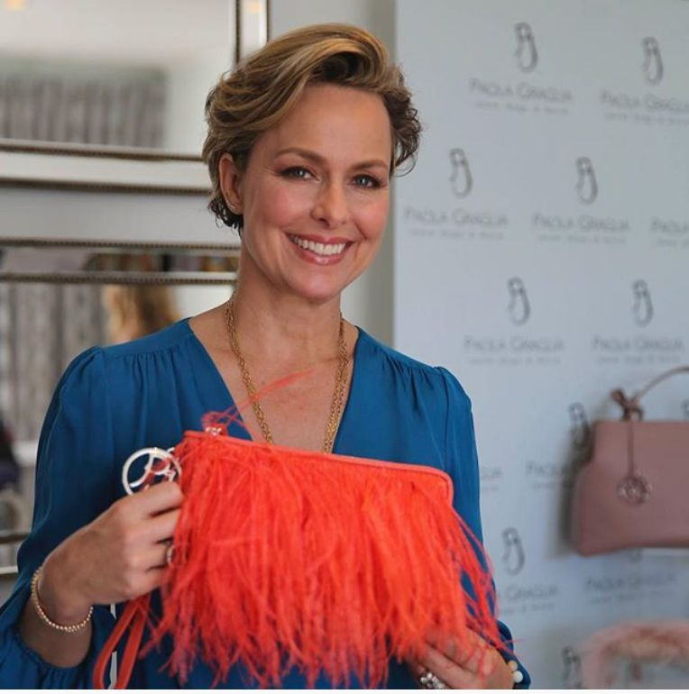Melora Hardin attends Nathalie Dubois - Pre-Awards DPA Luxury Talent Lounge at the Luxe Hotel on Rodeo Drive in Beverly Hills