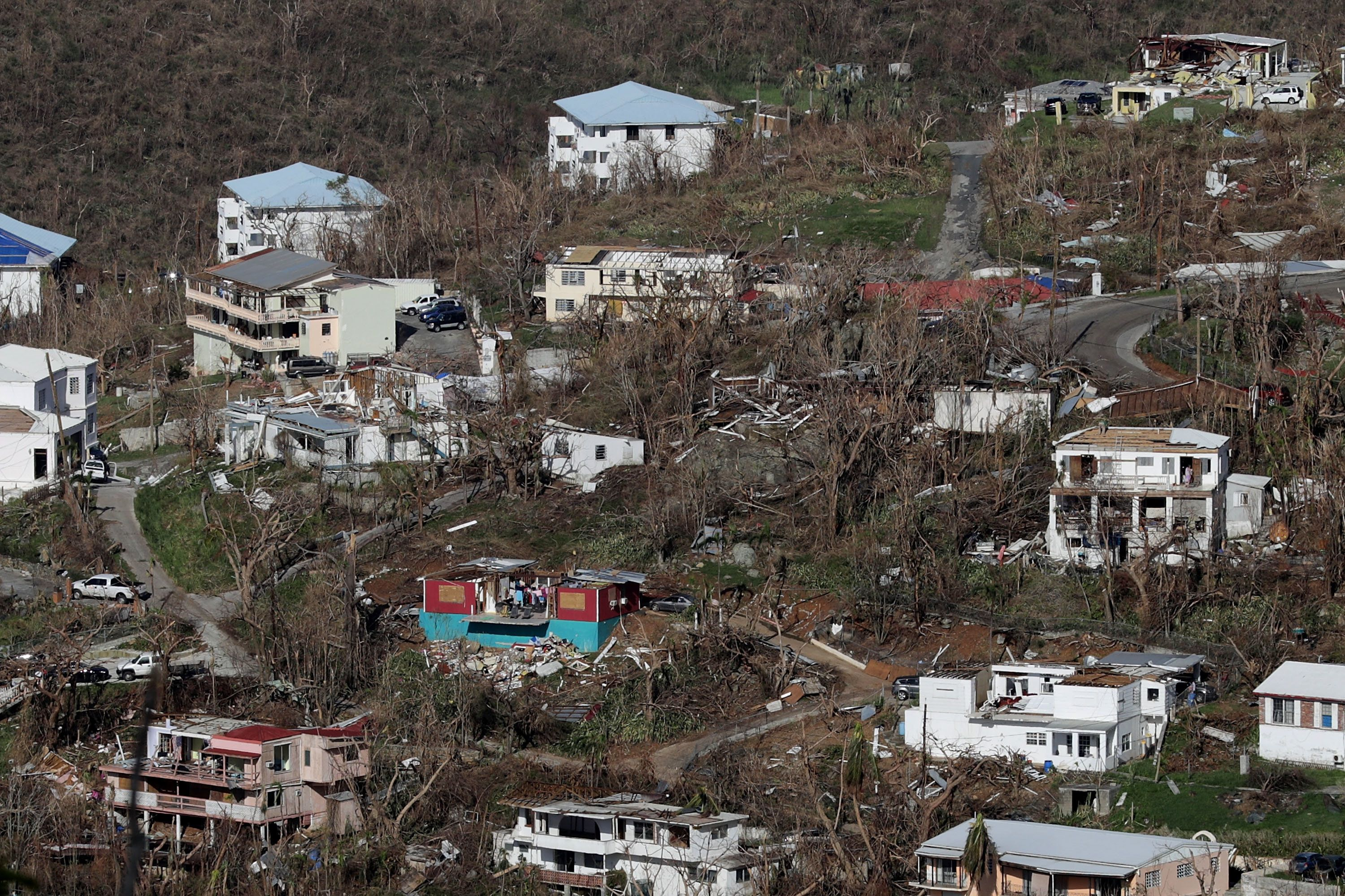 Trump Approves US Virgin Islands Disaster Declaration Following Hurricane Maria