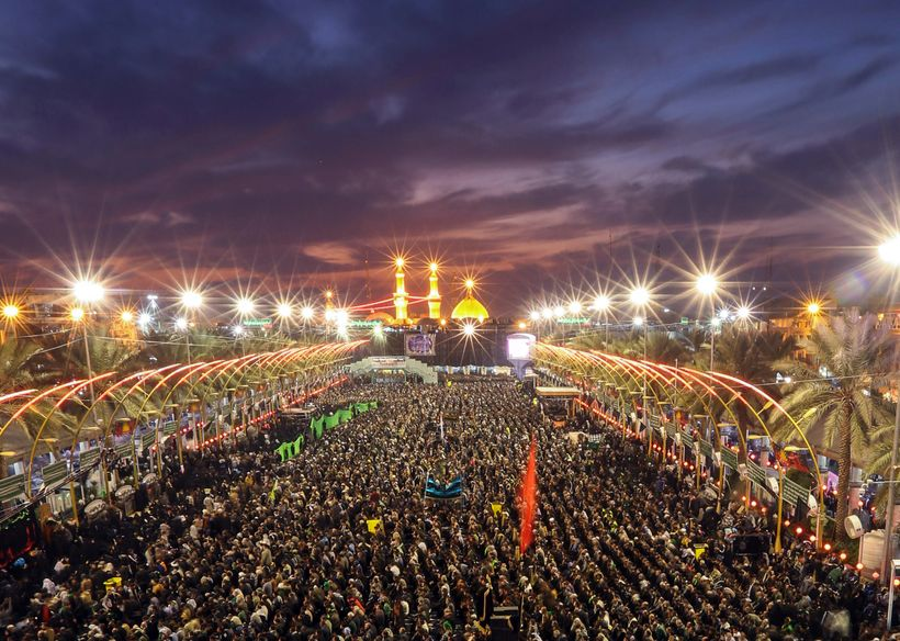 It is estimated that 25 Million pilgrims attend the annual commemoration of 40 days post martyrdom of Imam Hussain, known as