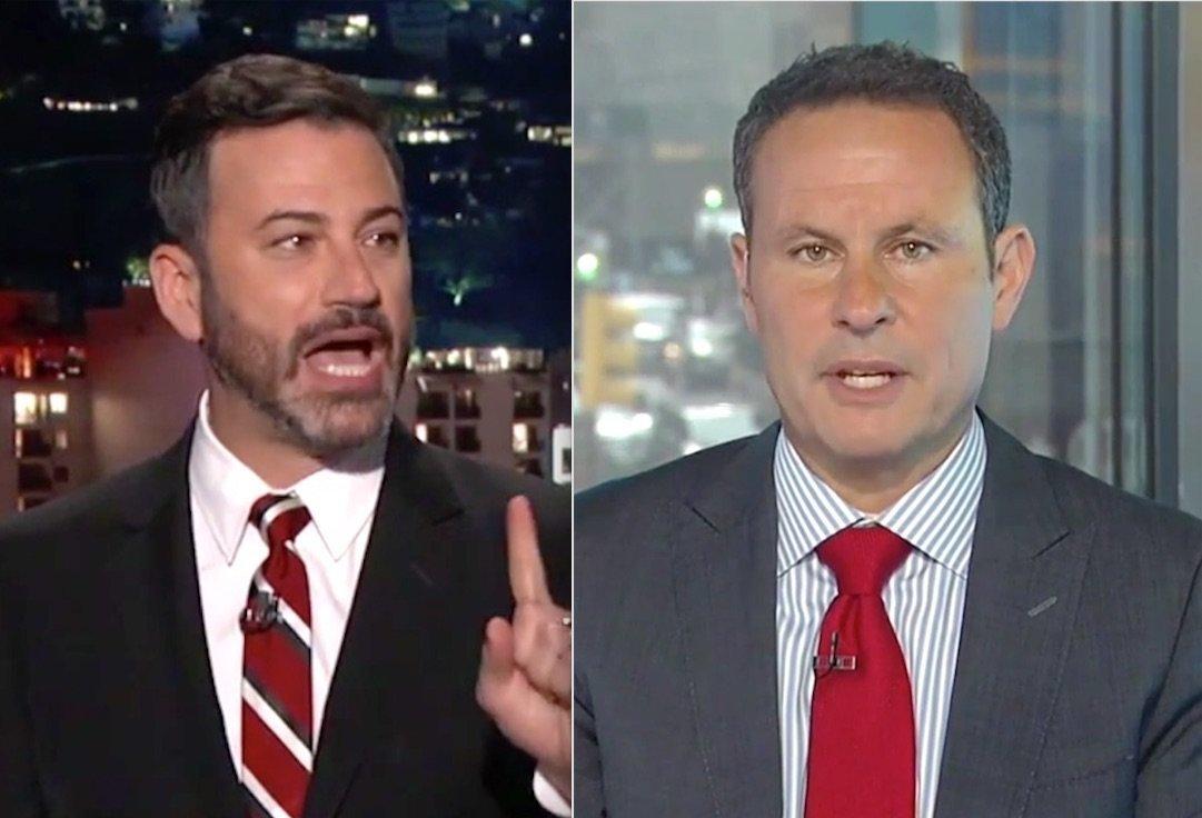 Jimmy Kimmel and Brian Kilmeade