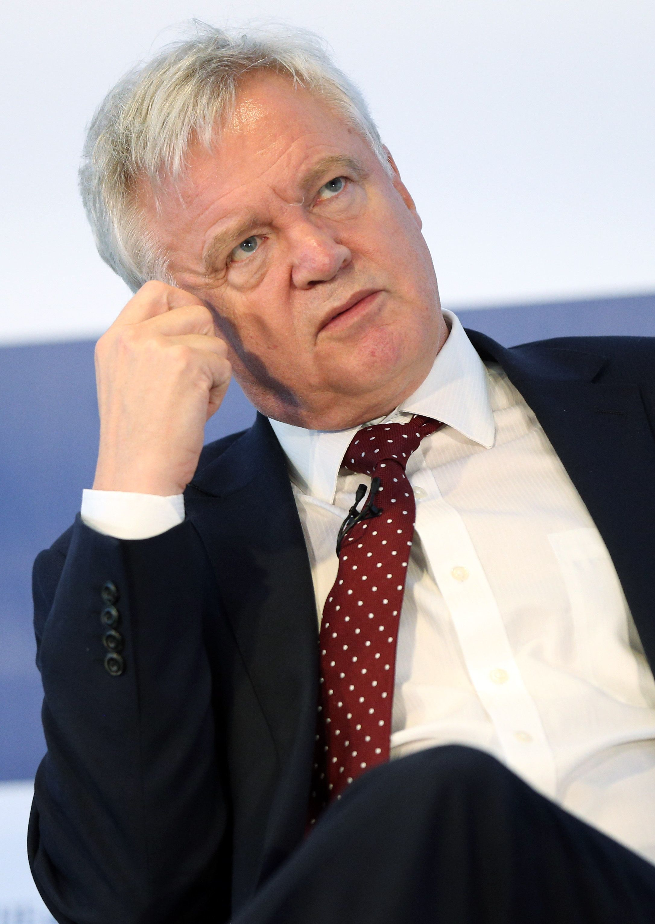 Brexit Secretary David Davis may not be keen on the suggestions for a Brexit hit