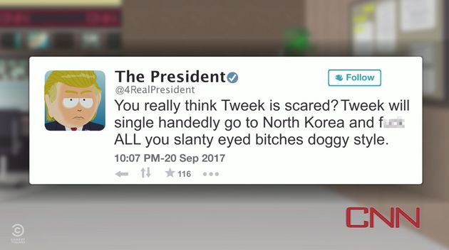 'South Park' Finally Attacks Trump Again, Focusing On North