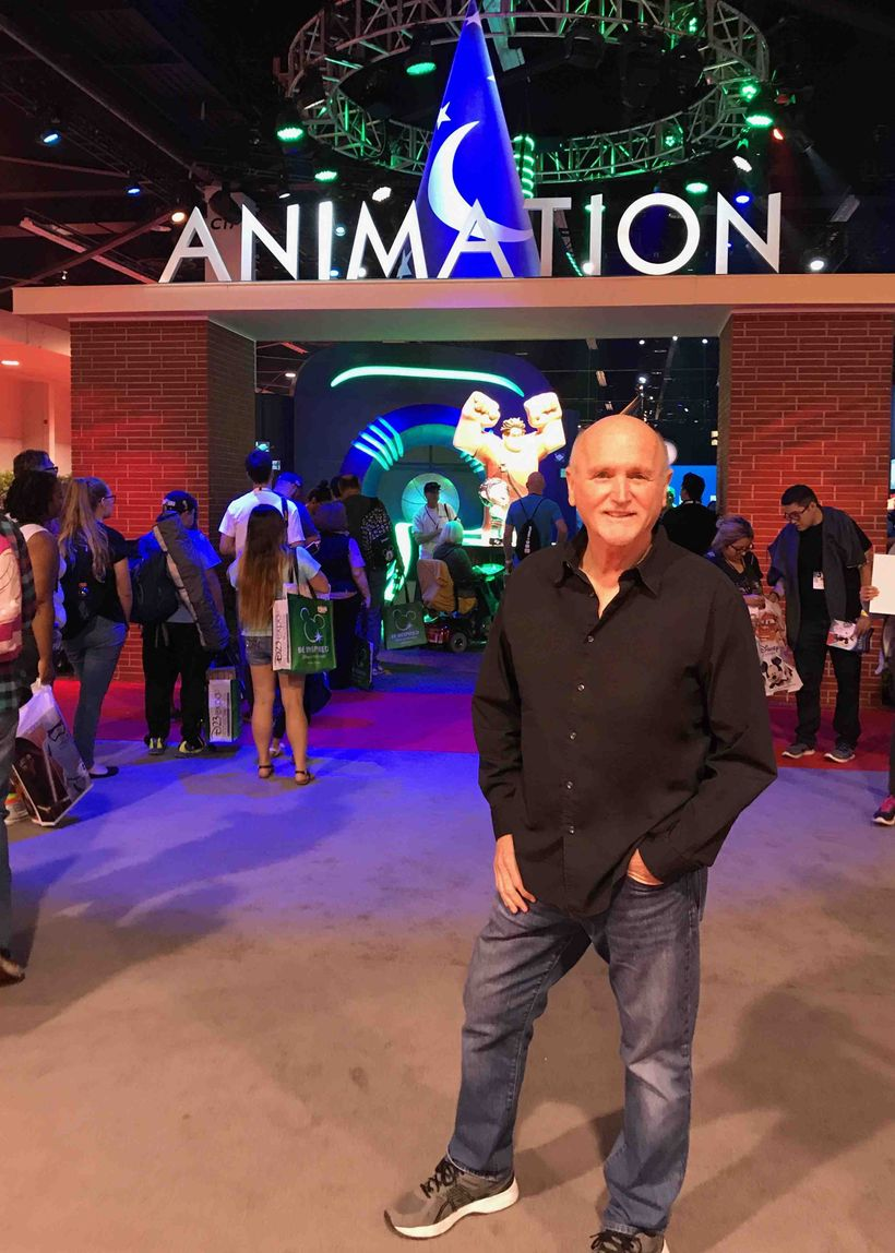 ASCAP Award-winning Songwriter Mark Mueller visits the 2017 D23 Expo in Anaheim on July 15.