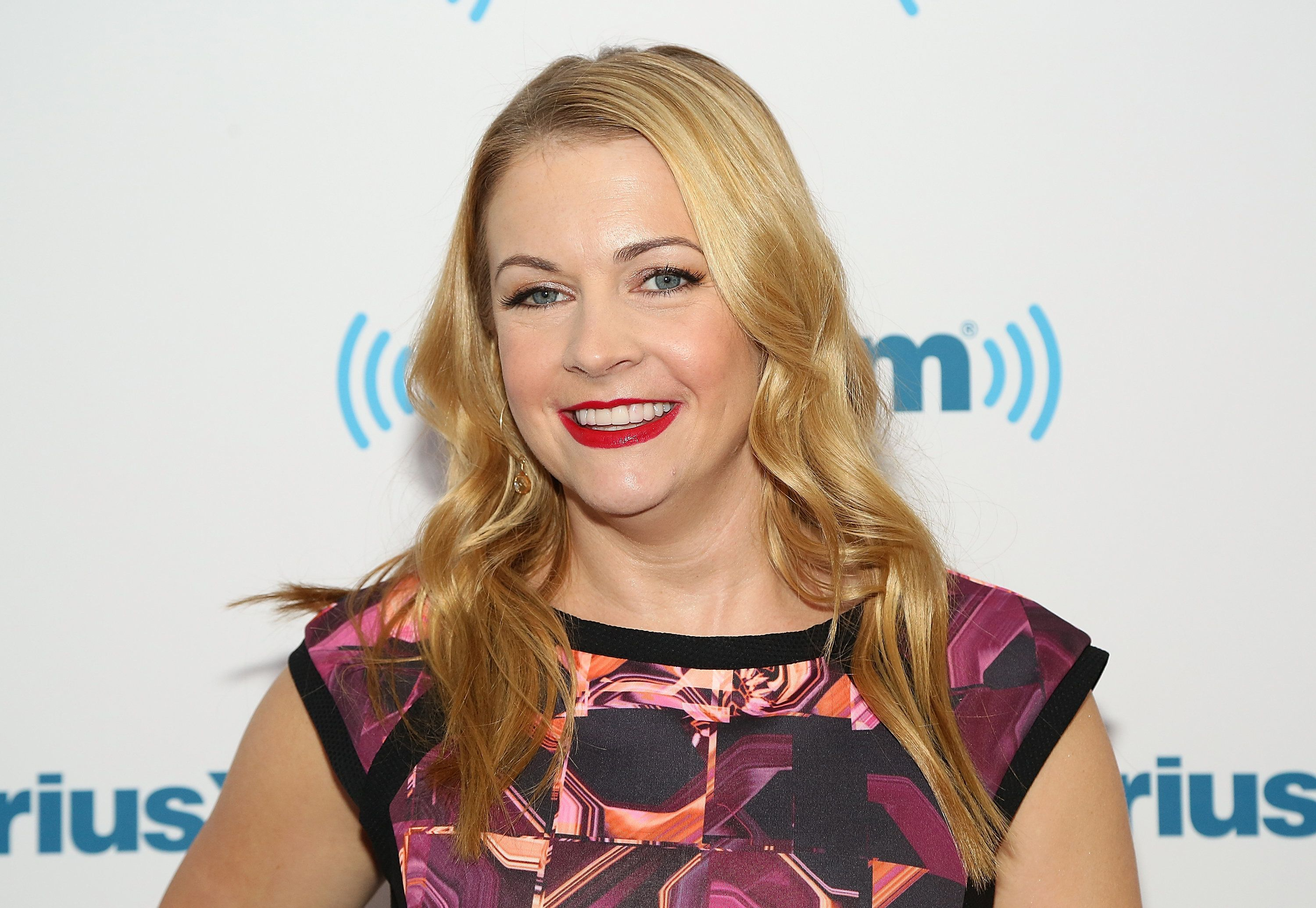 NEW YORK, NY - DECEMBER 08:  Melissa Joan Hart visits SiriusXM Studios on December 8, 2014 in New York City.  (Photo by Monica Schipper/Getty Images)