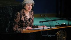 Theresa May's Big UN Moment Was A Little