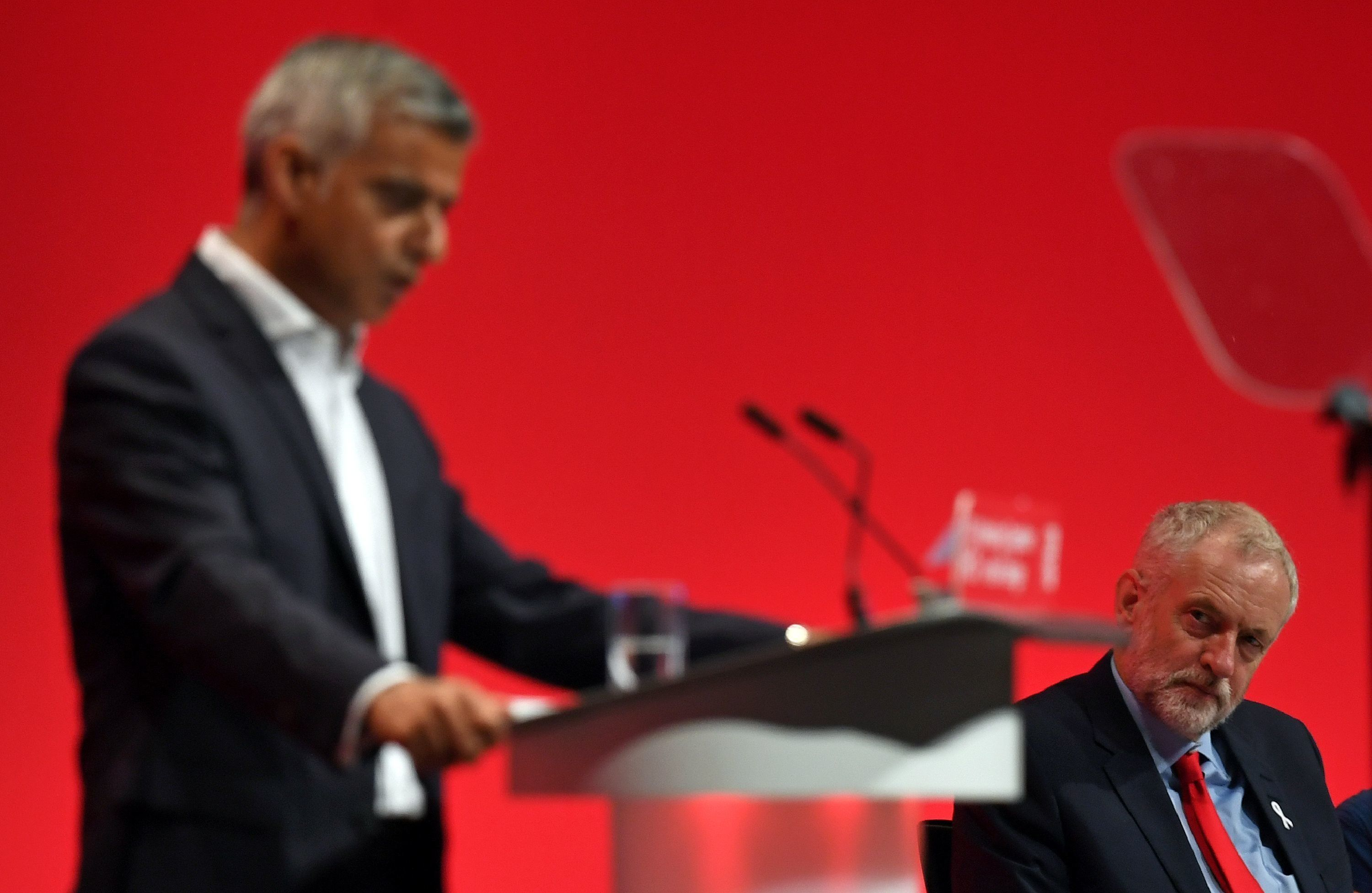 PAUL ELLIS via Getty Images Sadiq Khan's addition will do little to quell anger that the Labour conference line-up is too southern