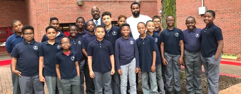 Great expectations yield remarkable results 5th grade students imagine me leadership charter schools talented 18 with george leonard director of curriculum and instruction l sciox Images