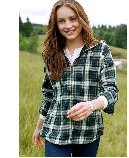 If you're looking for some classic looks during fall and winter, stick with L.L. Bean for flannel, cashmere, rain boots