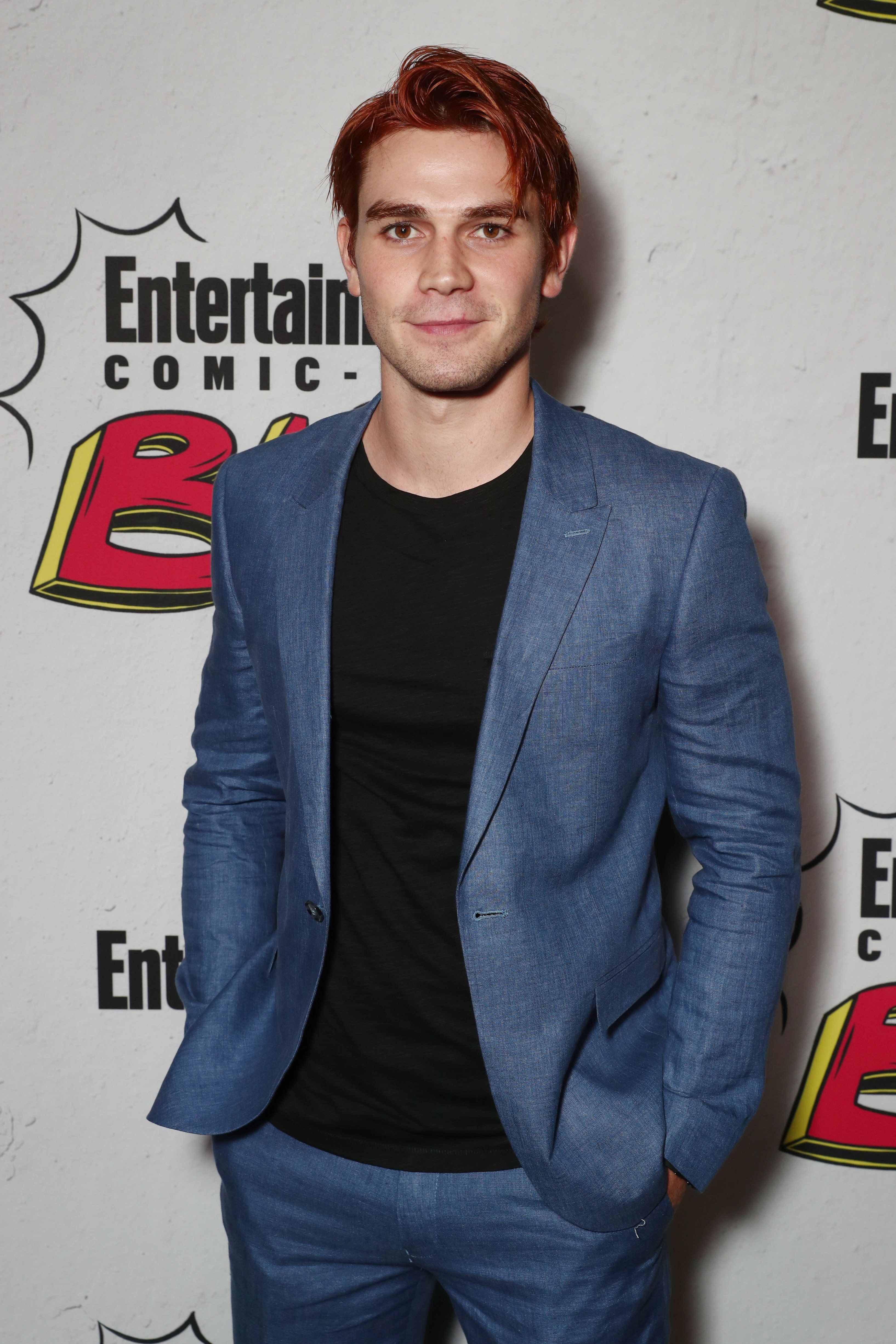 SAN DIEGO, CA - JULY 22:  K.J. Apa at Entertainment Weekly's annual Comic-Con party in celebration of Comic-Con 2017  at Float at Hard Rock Hotel San Diego on July 22, 2017 in San Diego, California.  (Photo by Todd Williamson/Getty Images for Entertainment Weekly)