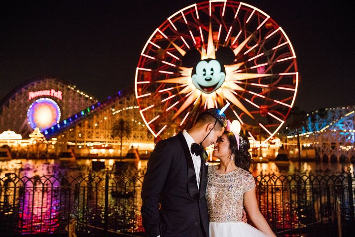 "Sarah and Gilbert, who first met at UC Berkeley in 2005, said their ""I dos"" at Disneyland."