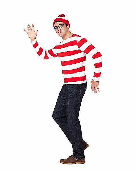 "<a href=""http://www.spirithalloween.com/product/adult-where-s-waldo-costume-where-s-waldo/30777.uts?keyword=where%27s%20waldo"