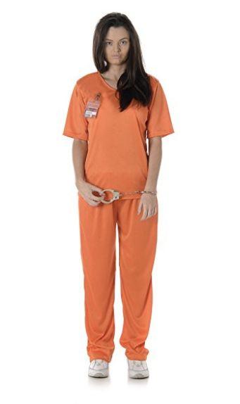 "Shop the <a href=""https://www.amazon.com/Womens-Orange-Prisoner-Costume-Halloween/dp/B01HINVXWU/ref=sr_1_8?amp=&ie=UTF8&keywo"