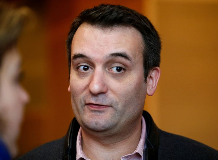 French far-right National Front (FN) vice-president Florian Philippot.