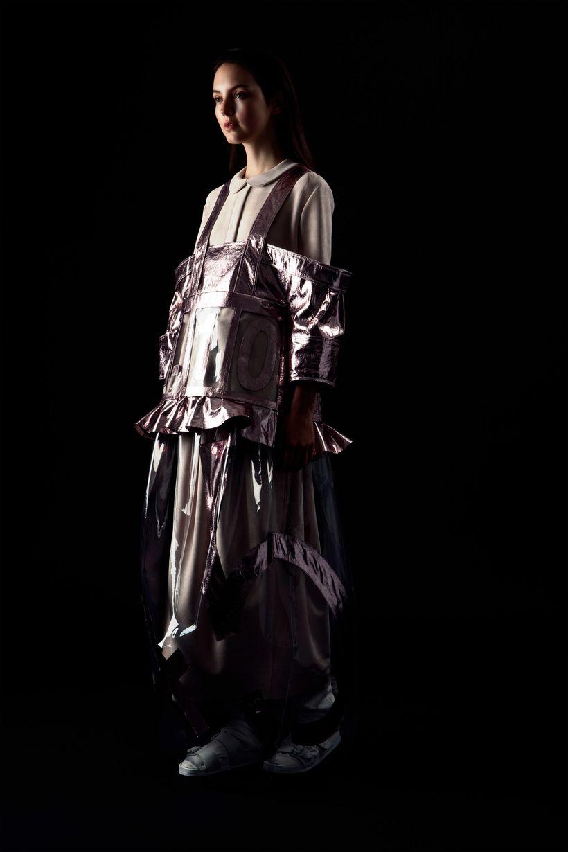 Art Director   Simon Ungless Photographer   Danielle Rueda Models   Kalyn Joy Waide at Stars, The Agency & Keanu Cohen at
