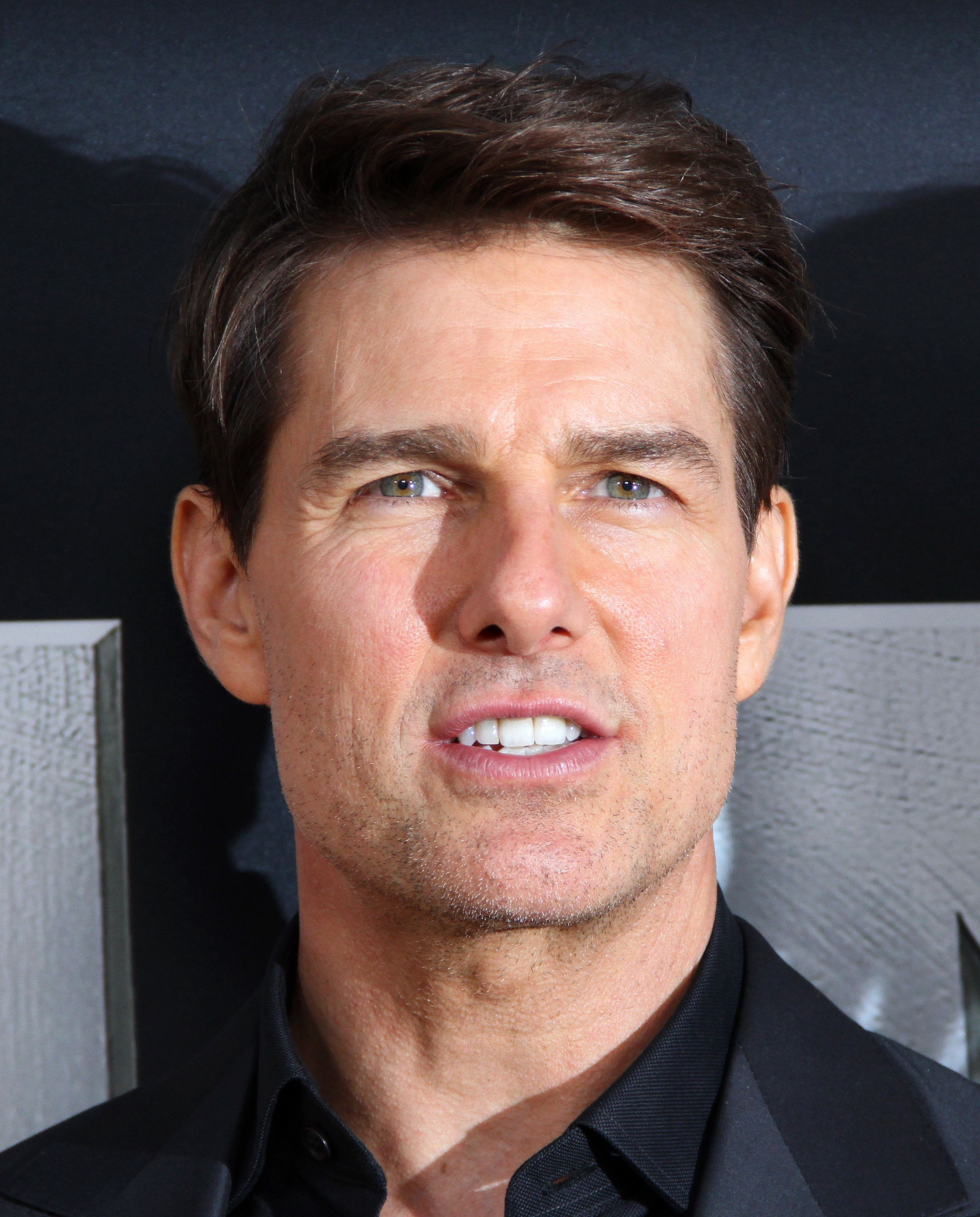 New York Ny June  Tom Cruise Attends The Mummy Fan