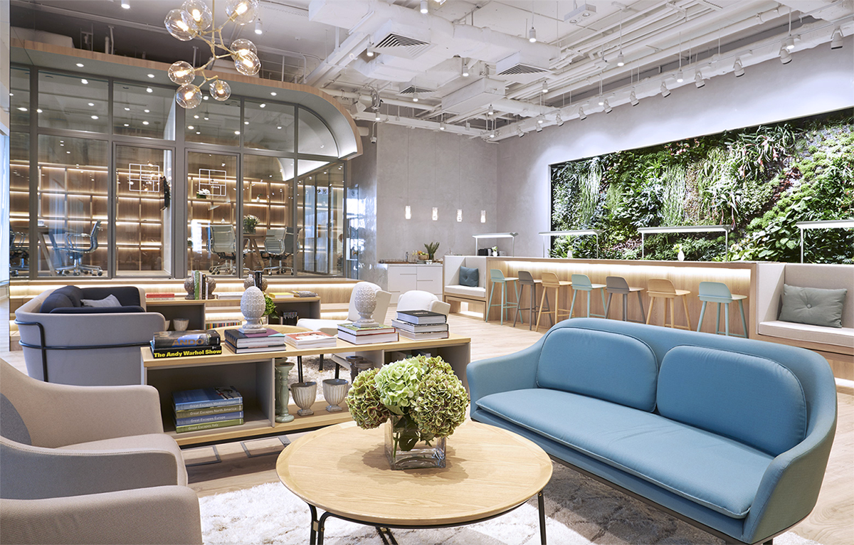 Charming neuehouse york cool offices Cafe The Work Project In Hong Kong China Huffpost The 20 Best Coworking Spaces Across The Globe Huffpost Life