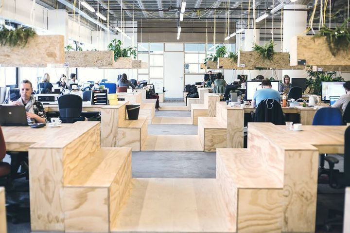 The 20 best coworking spaces across the globe huffpost Coworking space design ideas
