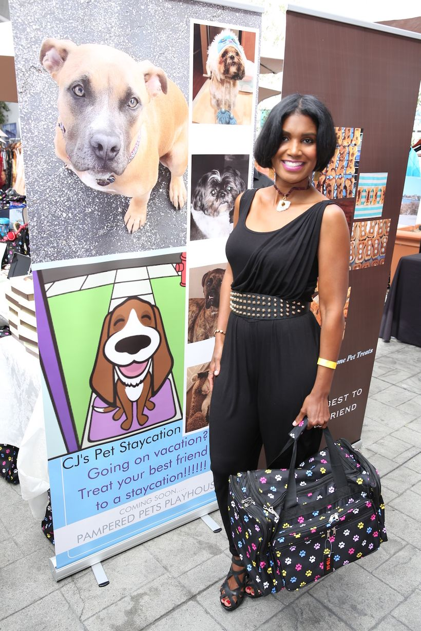 Denise Boutte with Pampered Pets Playhouse Resort & Spa