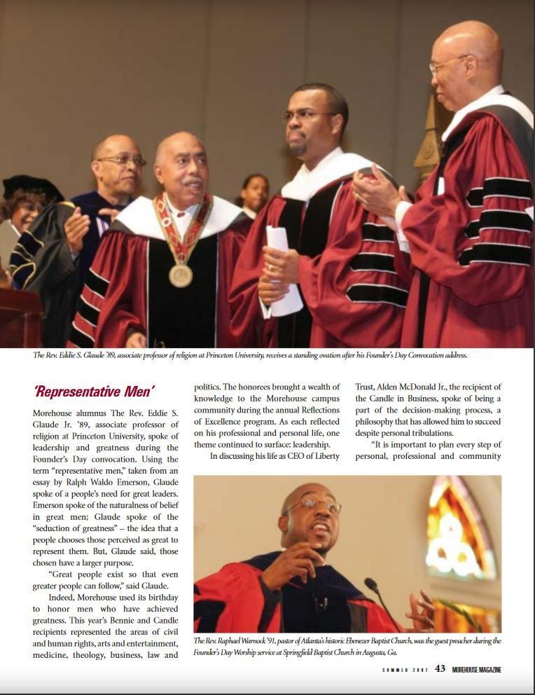 A Prayer for (the Rebirth of) Morehouse College | HuffPost