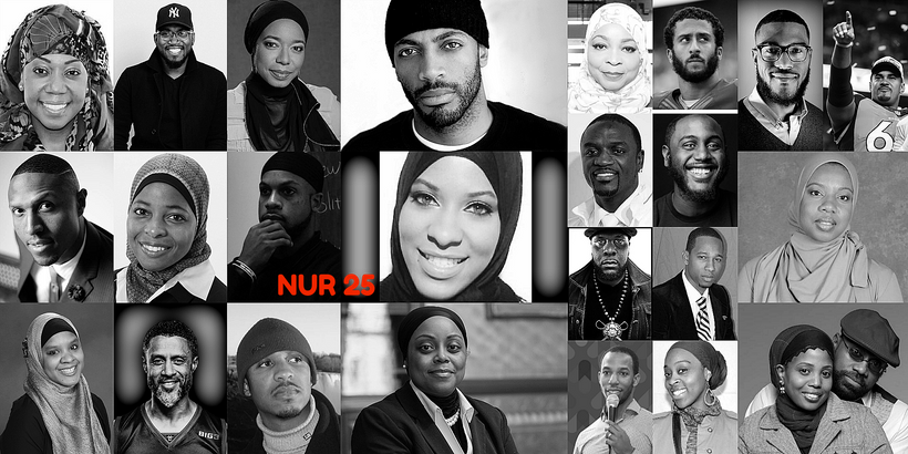 The Nur 25 is made up of a collection of Muslims that are shining their light in various areas. See details below.
