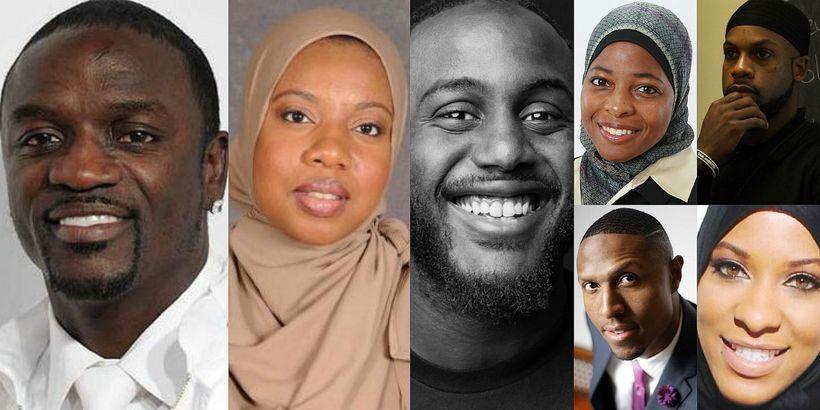 Akon - Artist, Philanthropist Ameenah Muhammad-Diggins - Author, Entrepreneur Tariq Toure - Author, Activist Intisar Rabb - H