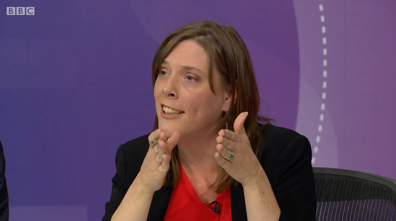 Jess Phillips Nails Vince Cable Over Tuition Fees And Bedroom Tax On Question