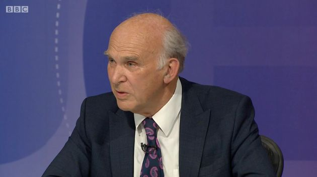 Vince Cable claimed that 'all the parties have let down