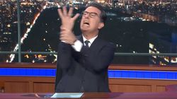 Stephen Colbert Reveals His Hilarious On-Camera Meltdown