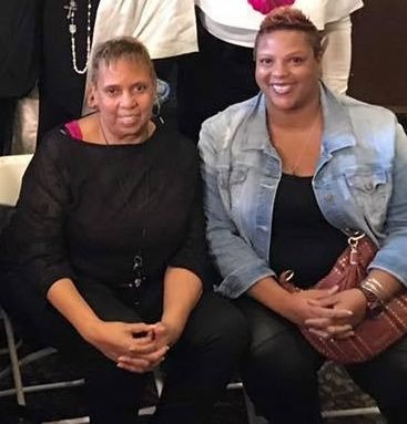 <strong>Mother and daughter: Sharon Heyward and Monique Davis Cary</strong>