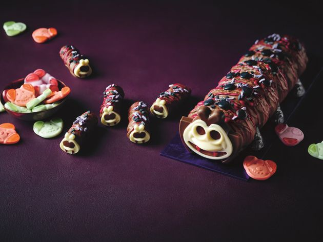 This Christmas-Themed Colin The Caterpillar Cake Will Make You Feel