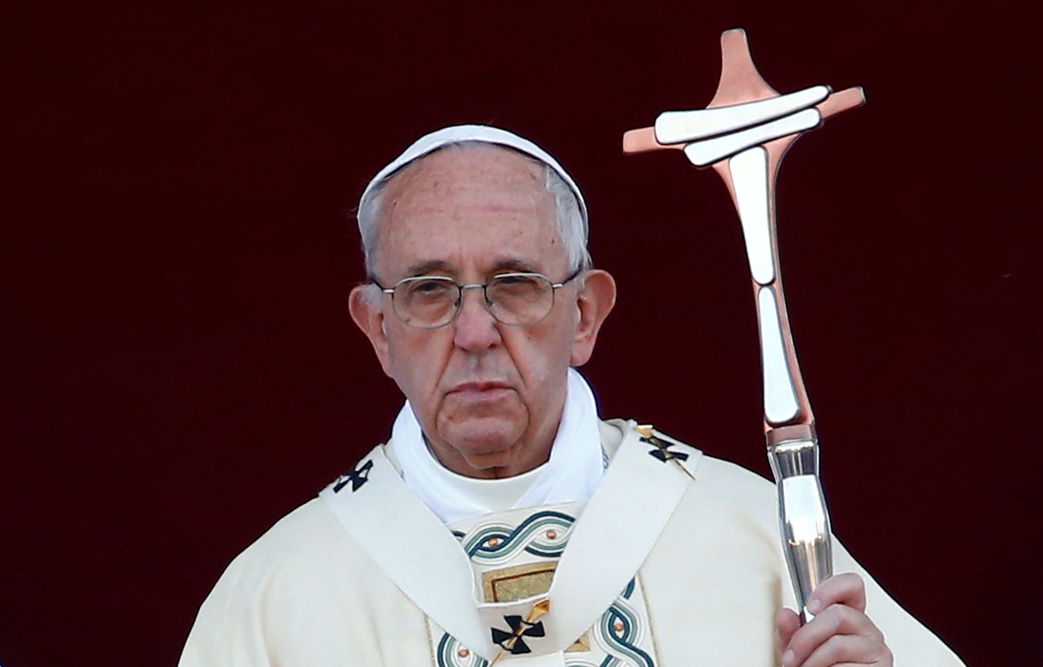 Pope Francis spoke candidly with leaders of a sex abuse commission at the Vatican on Thursday.