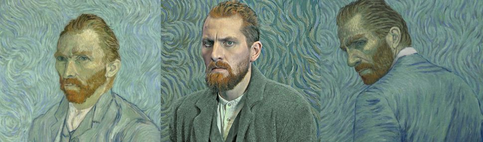 Polish theater actor Robert Gulaczyk stars as Vincent van Gogh.