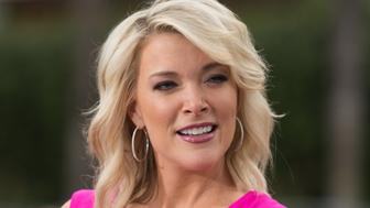 UNIVERSAL CITY, CA - SEPTEMBER 19:  Megyn Kelly visits 'Extra' at Universal Studios Hollywood on September 19, 2017 in Universal City, California.  (Photo by Noel Vasquez/Getty Images)