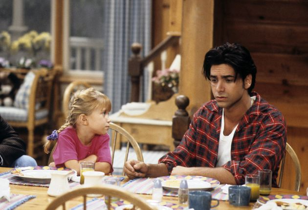 Mary Kate Olsen and John Stamos in the original