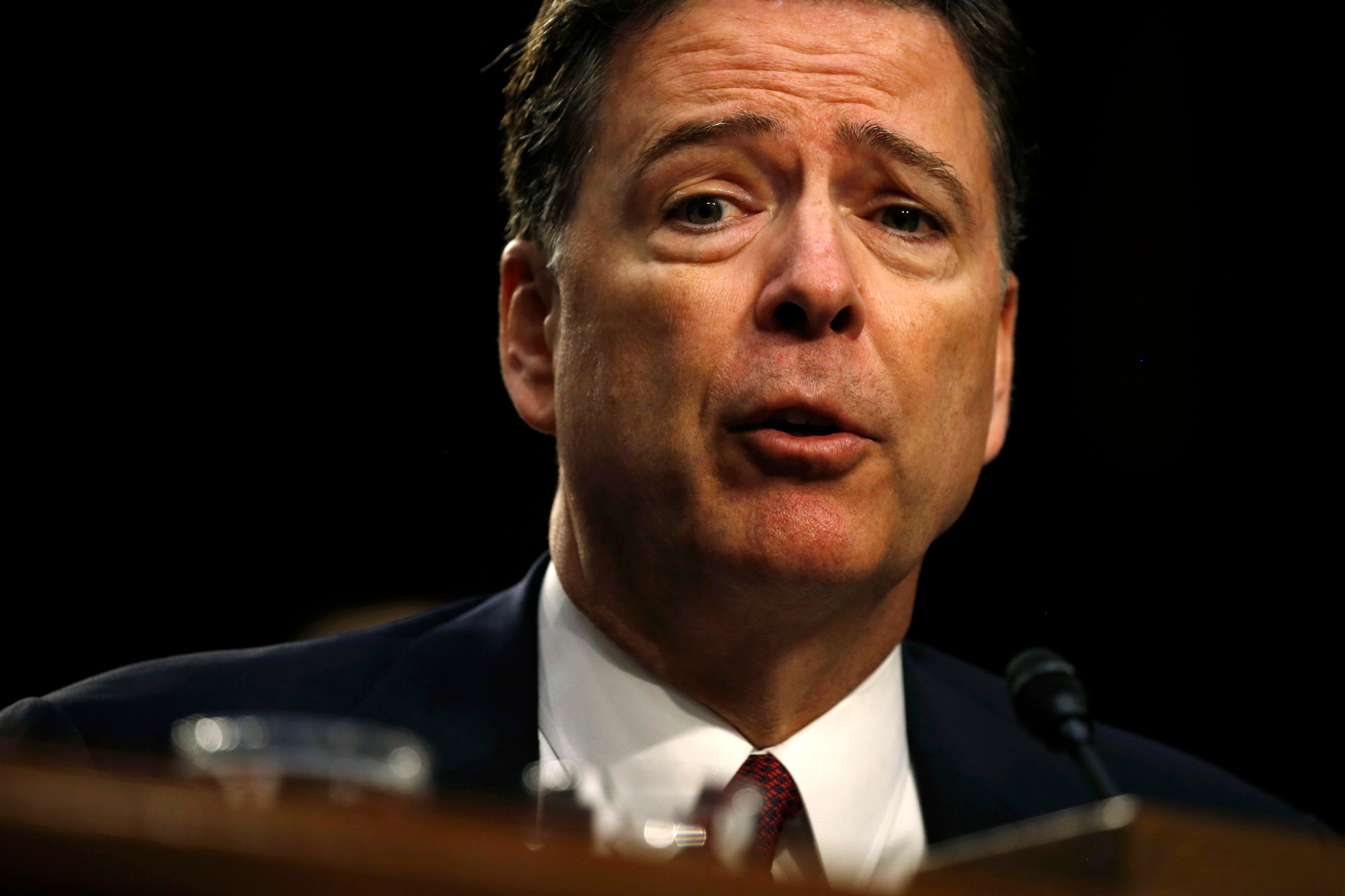 James Comey's Speech Derailed By Protests During Howard University Convocation
