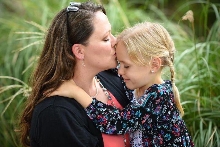 Kimberly Shappley and her daughter Kai.