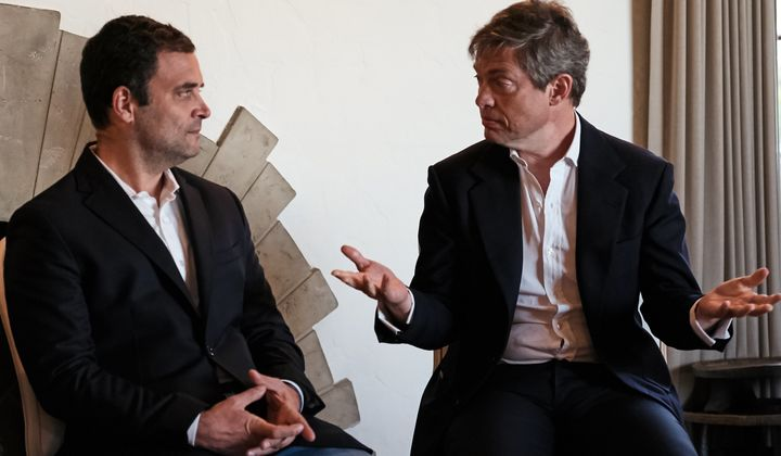 Indian politician Rahul Gandhi recently sat down with the Berggruen Institute's Nicolas Berggruen.