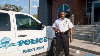 Ferguson Police Chief Delrish Moss