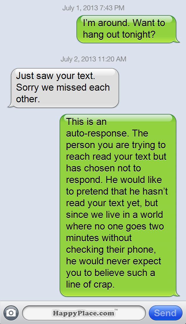 Texting versus talking